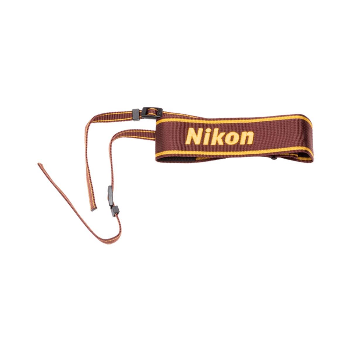 AN-6W Nylon Wide Neck Strap (Wine)