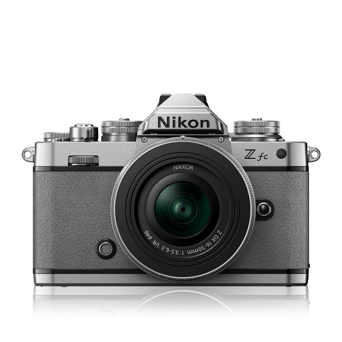 Z fc Natural Grey + NIKKOR Z DX 16-50 VR SL