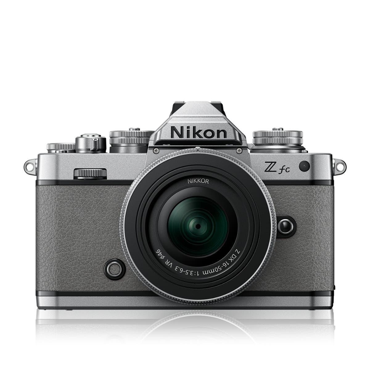 Z fc Natural Grey + NIKKOR 16-50 VR SL + 50-250 VR