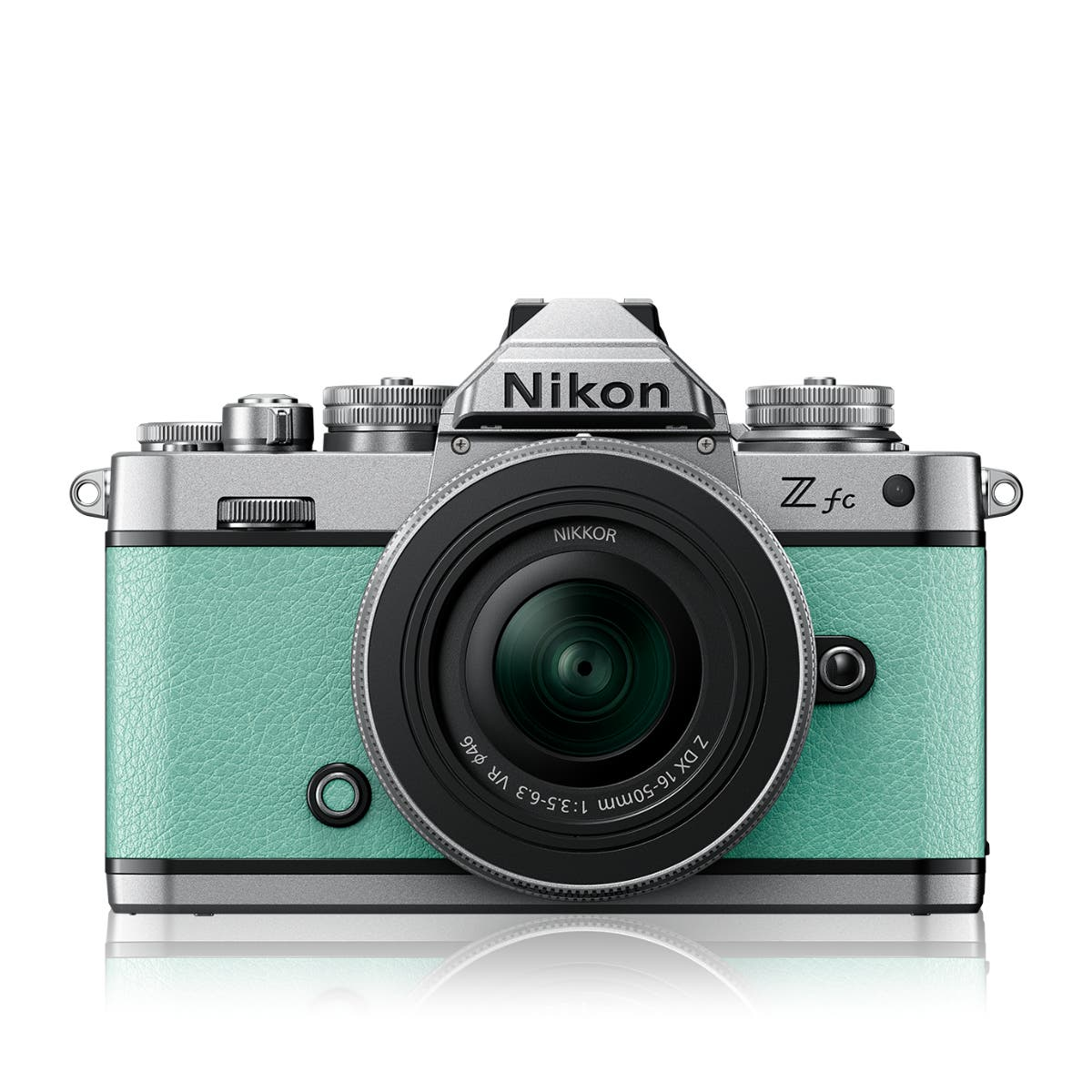 Z fc Mint Green + NIKKOR Z DX 16-50 VR SL