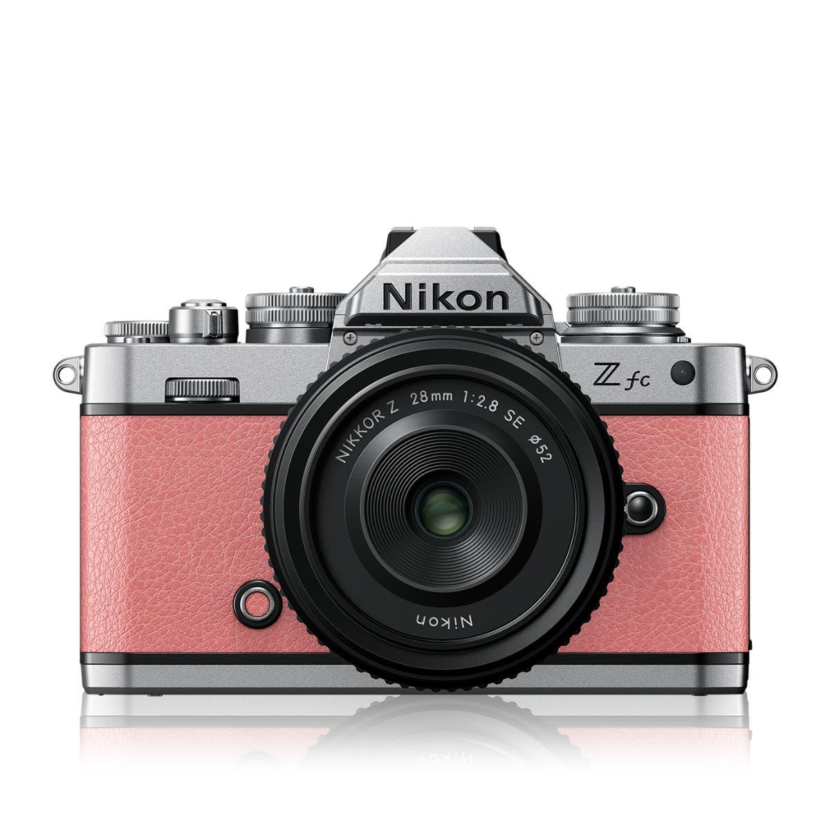 Z fc Coral Pink + NIKKOR Z 28 f/2.8 (SE)
