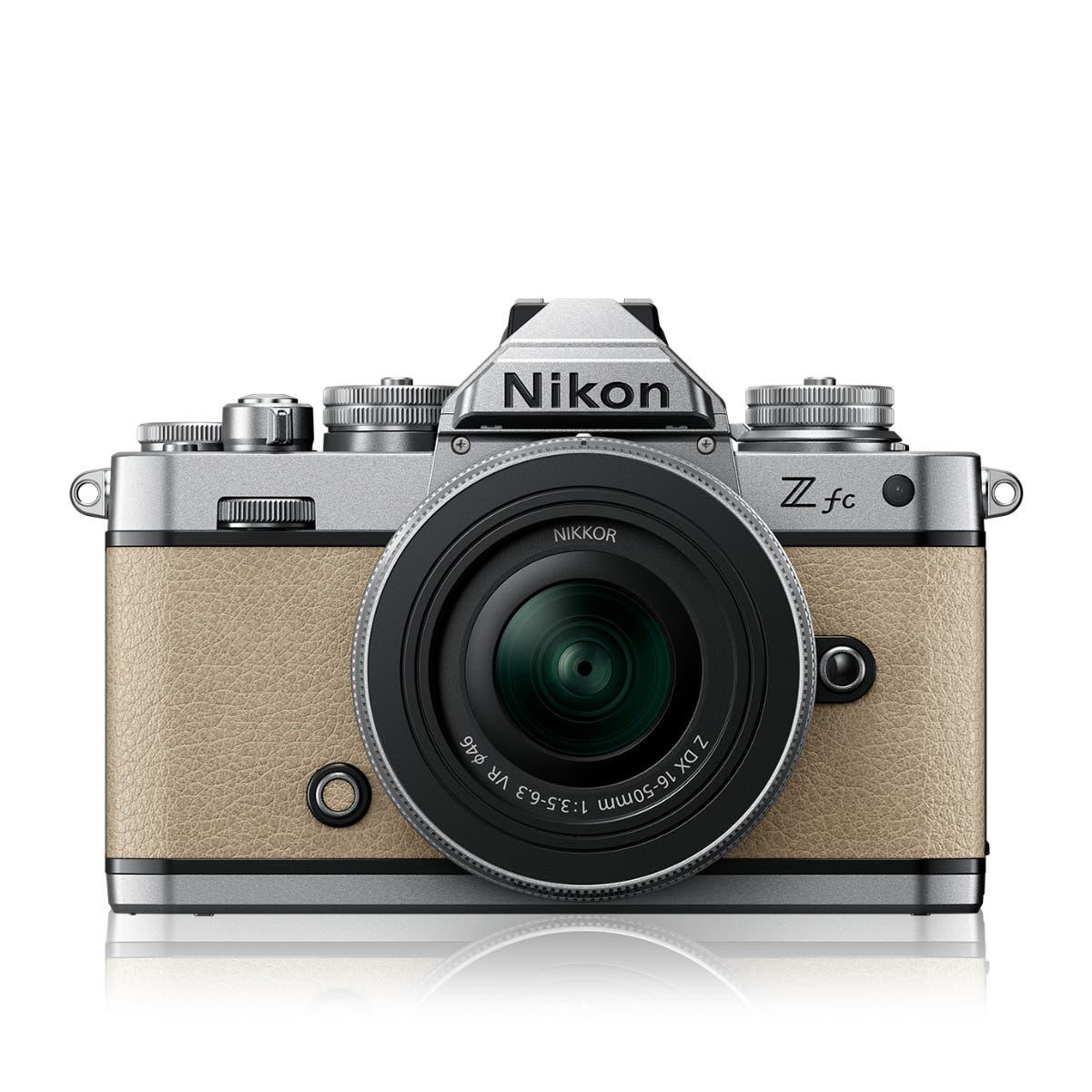Z fc Sand Beige + NIKKOR Z DX 16-50 VR SL