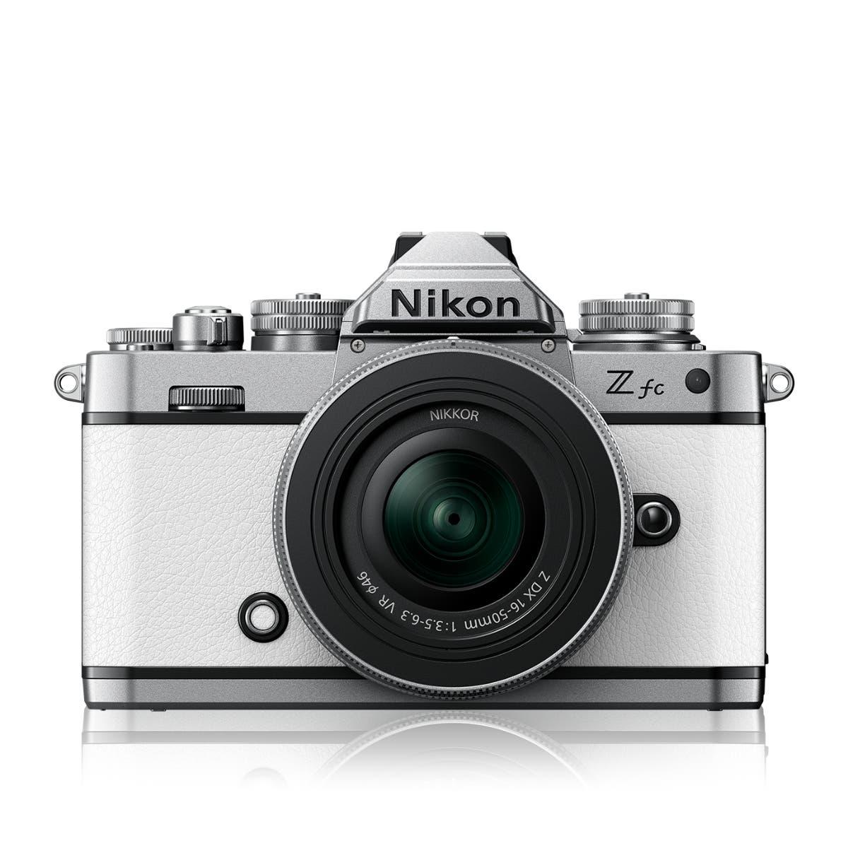 Z fc White + NIKKOR Z DX 16-50 VR SL